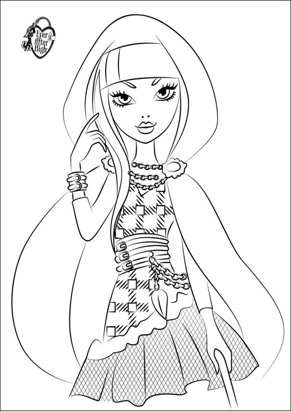 Ever After High ausmalbilder 06