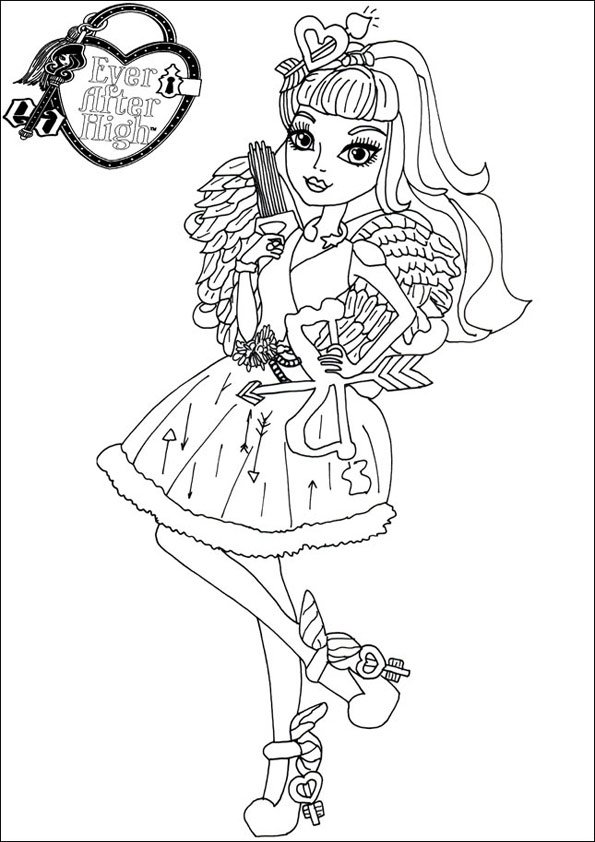 Ever After High ausmalbilder 09