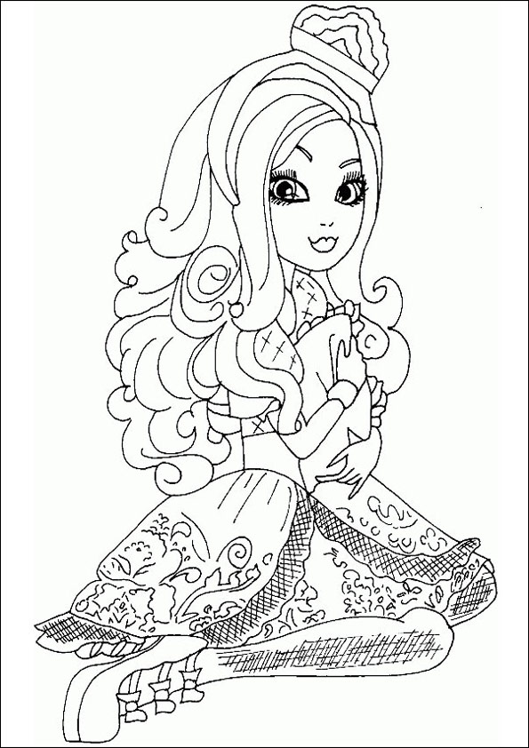 Ever After High ausmalbilder 10