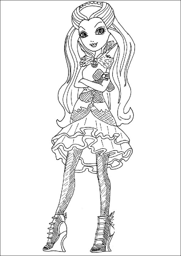 Ever After High ausmalbilder 13