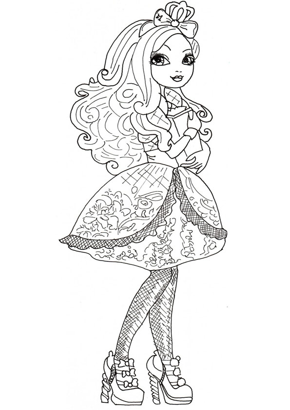 Ever After High ausmalbilder 19