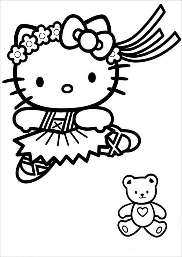 Hello Kitty ausmalbilder 02
