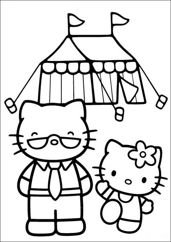 Hello Kitty ausmalbilder 04