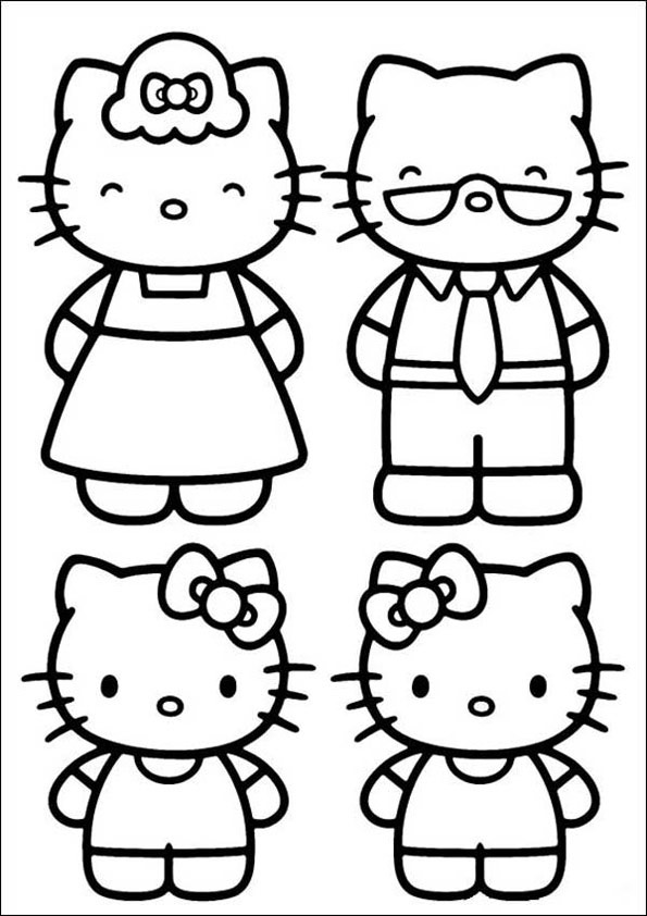 Hello Kitty ausmalbilder 05
