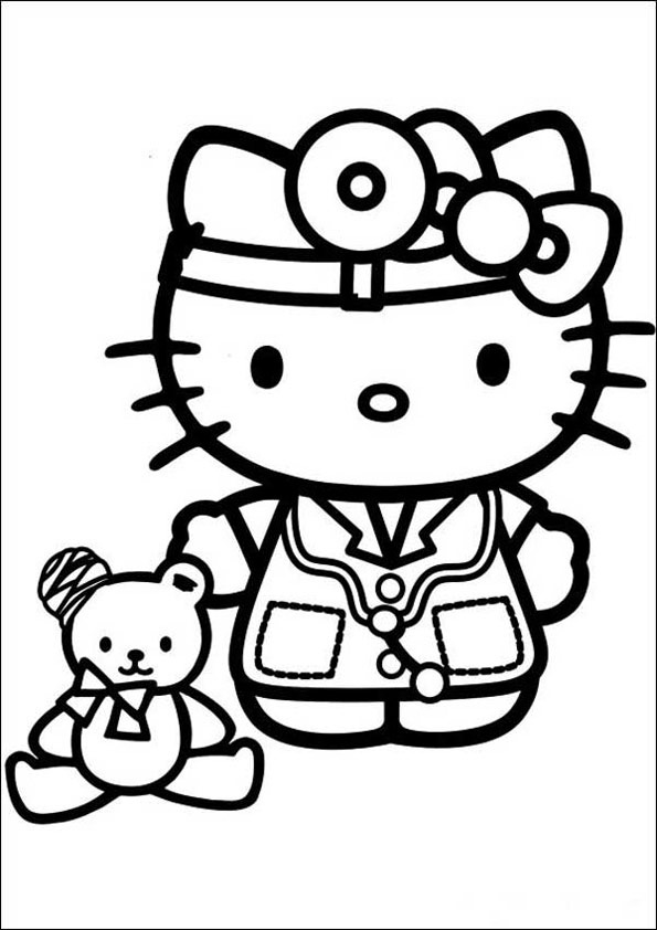Hello Kitty ausmalbilder 06