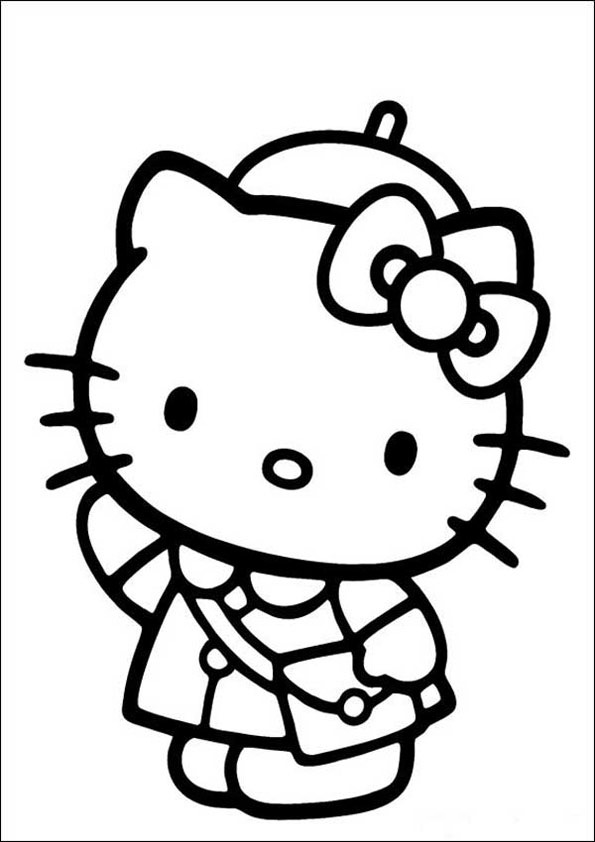Hello Kitty ausmalbilder 12