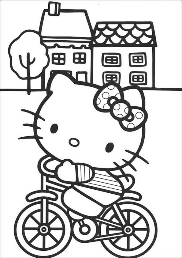 Hello Kitty ausmalbilder 13