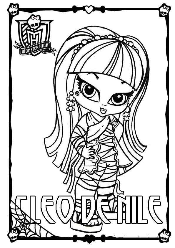 Monster High ausmalbilder 05