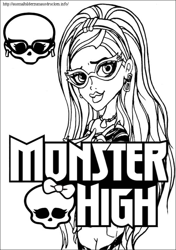 Monster High ausmalbilder 14