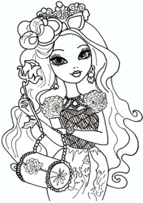 Ever After High zum ausdrucken 21