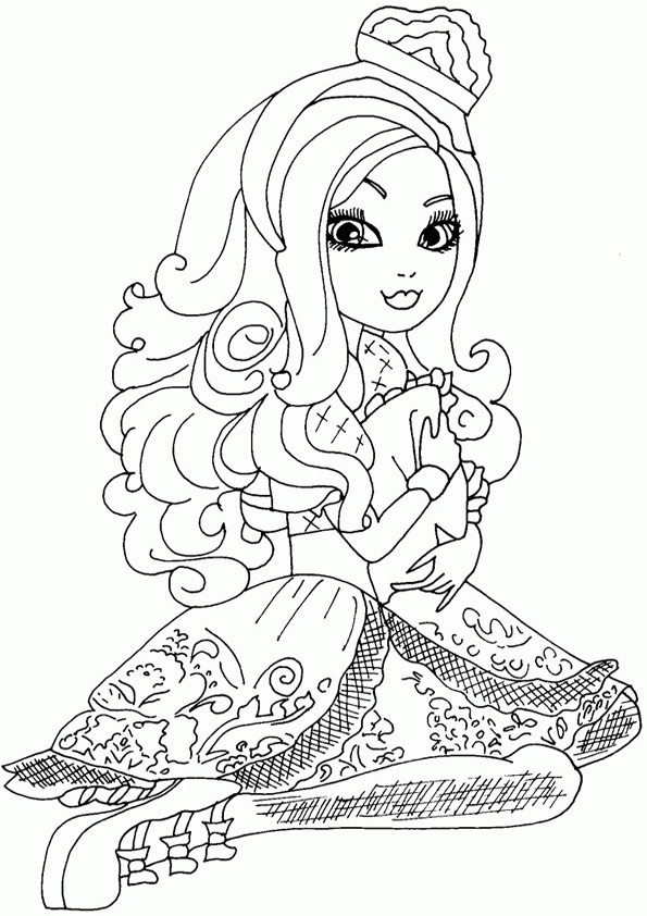 Ever After High zum drucken 23