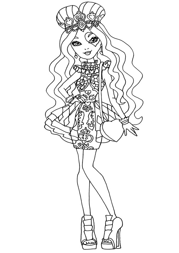 Ever After High ausmalbilder 29 | Ausmalbilder